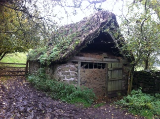The finished sixteenth-century cattle byre - twelve years on