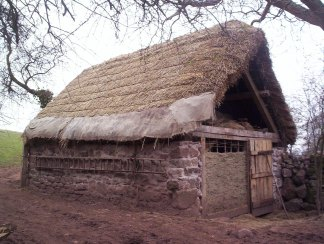 The finished sixteenth-century cattle byre