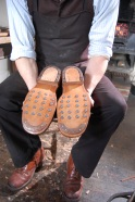 Tom's hobnail boots